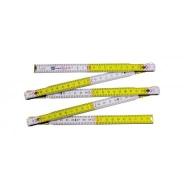 STALCO  miara skł 2m biało-żółta perfect  a'1szt