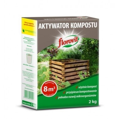 Florovit granulowany aktywator kompostu 1kg