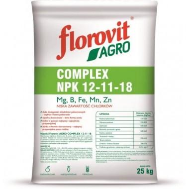 Florovit Agro Complex 25 kg NPK 12-11-18
