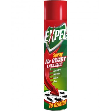 Spray na owady latające Expel