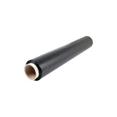 Folia strech ręczna czarna 1,7kg
