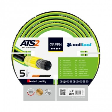 Wąż zbr. GreenATS2 1/2' a'25mb 15-100 CELLFAST