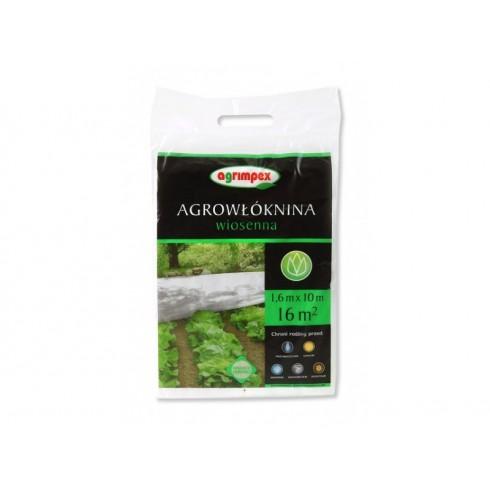Agrowłóknina pakiet 1.6 x 10 P17 biała