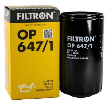 Filtr olejowy OP 647/1